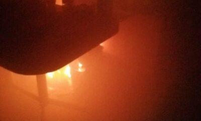 Se registra incendio en alcaldía Iztacalco