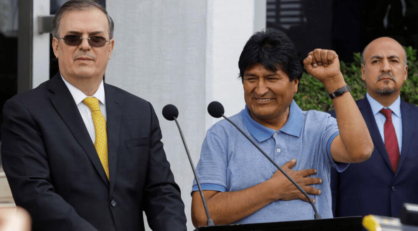 Evo Morales abandonó México