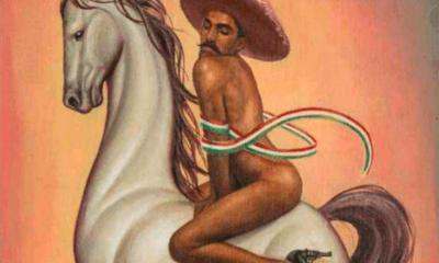"""Familia de Zapata demandará a Cultura, INBAL y a pintor por """"intervenir"""" imagen del general"""