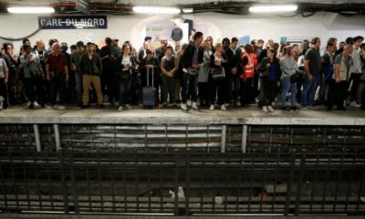 Huelga, transporte, Francia, trenes, Metro, Emmanuel, Macron, Navidad, Marchas, Manifestaciones,