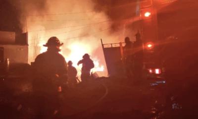 Incendio, Iztapalapa, Santa Martha, Acatitla, Bomberos, Emergencia, Protección Cívil,