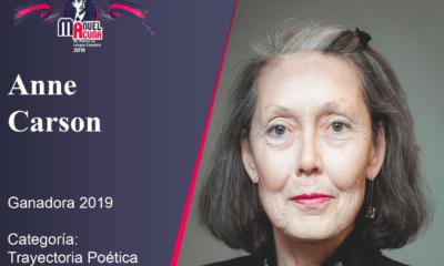 Poeta canadiense Anne Carson pierde el Nobel pero gana el Manuel Acuña en México