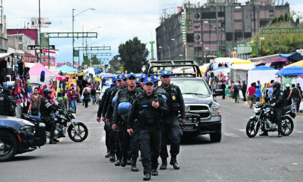 Policías, Operativo, decembrino, Diciembre, CDMX, Procuraduría,