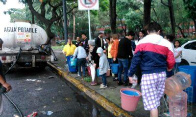 SACMEX anuncia recorte de agua en 100 colonias de la CDMX