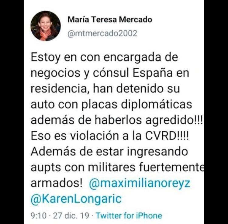 Agreden a cónsul español afuera de embajada de México en Bolivia