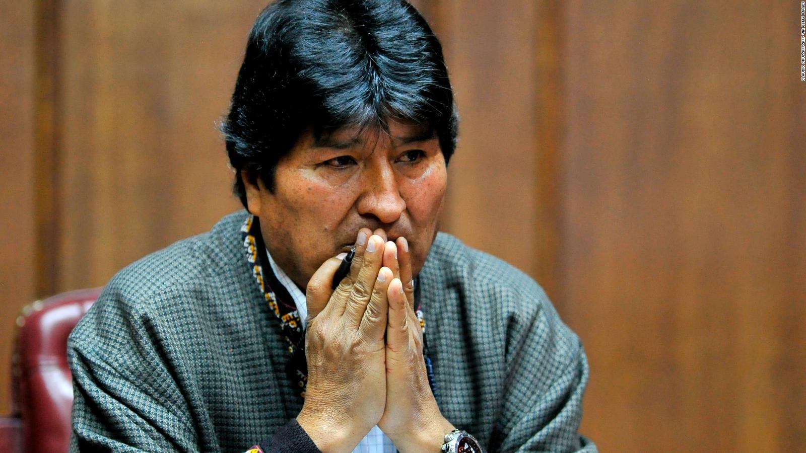 Evo Morales llega a Argentina; agradece a México el asilo