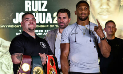Andy Ruiz, listo para la revancha contra Anthony Joshua
