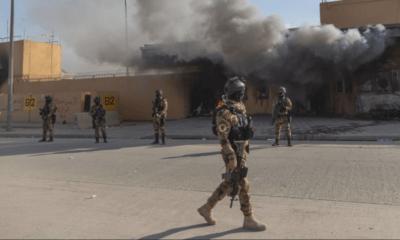 Ataque, Segundo Embajada, Estados Unidos, Irán, Irak, Bagdad,