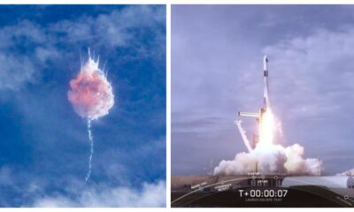 SpaceX destruye cohete que enviaría humanos al espacio