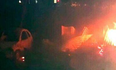 150 sicarios incendian pueblo en Chihuahua