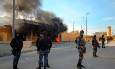 Otro ataque a base militar de EU en Irak; 4 iraquíes heridos