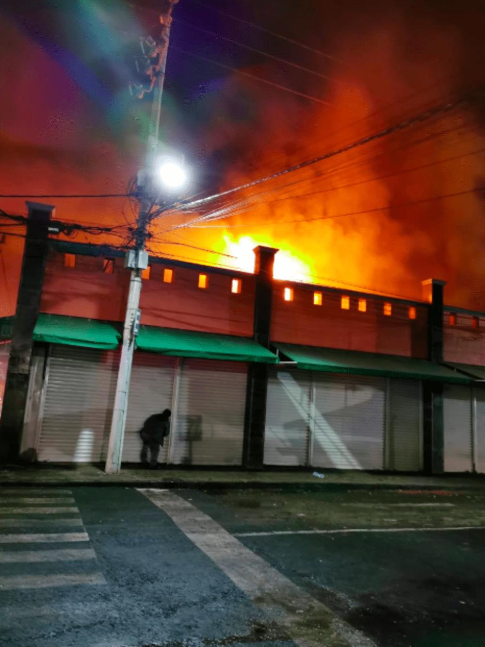 Cortocircuito causaron incendios en mercados: Fiscalía de la CDMX