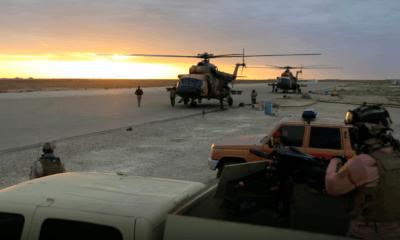 Dos cohetes impactan otra base de EU en Irak