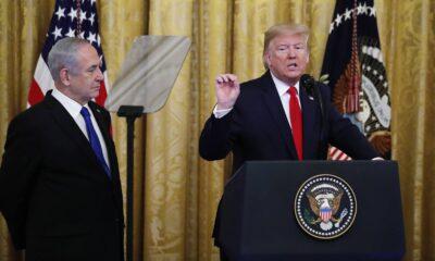 """Trump presenta """"plan de paz"""" para Medio Oriente"""
