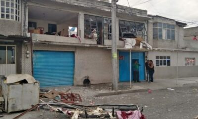 Dos heridos por explosión en alcaldía Gustavo A. Madero
