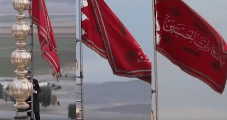 Irán iza 'bandera roja' llamando a una 'gran batalla' por venganza