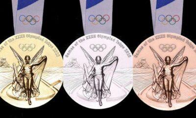 Las medallas de Tokio 2020 se hicieron con smartphones reciclados