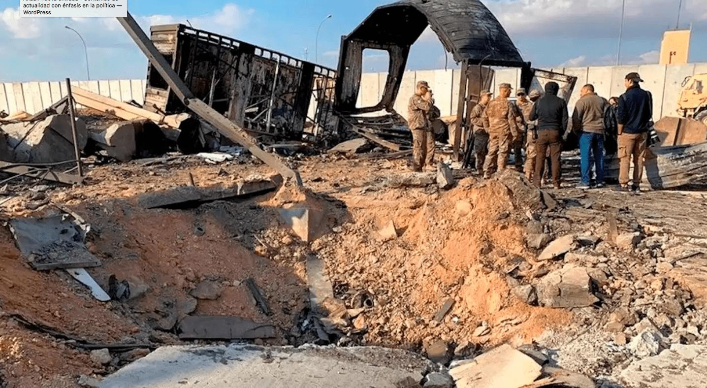 Militares, Heridos, Ataque, Estados Unidos, Irán, Irak, Base, Militar,