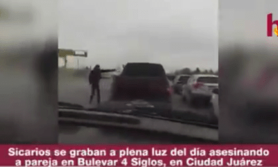 Sicarios se graban ejecutando pareja en plena calle de Ciudad Juárez
