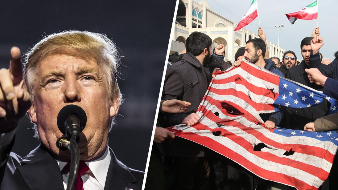 Trump advierte a Irán no buscar venganza y presume poderío militar