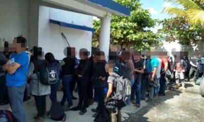 Veracruz rescata a 117 migrantes y detiene a 5 personas (1)