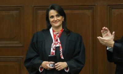 Margarita Ríos-Farjat rinde protesta como ministra de la SCJN