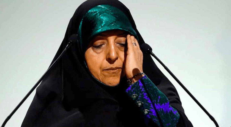 Vicepresidenta, Vice ministra, Irán, Iraní, Coronavirus, Covid-19, Enferma, Contagiada,