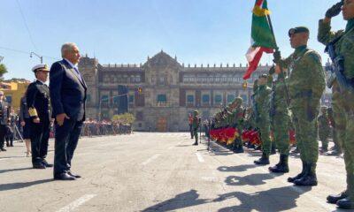 Ante el pueblo, AMLO exime al Ejército de 'tropiezos' históricos
