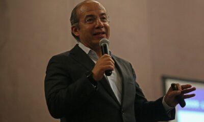 Calderón critica a AMLO; dice que hace falta Solarmex y no Pemex