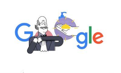 Dedican doodle a Ignaz Semmelweis, descubridor de la importancia del lavado de manos