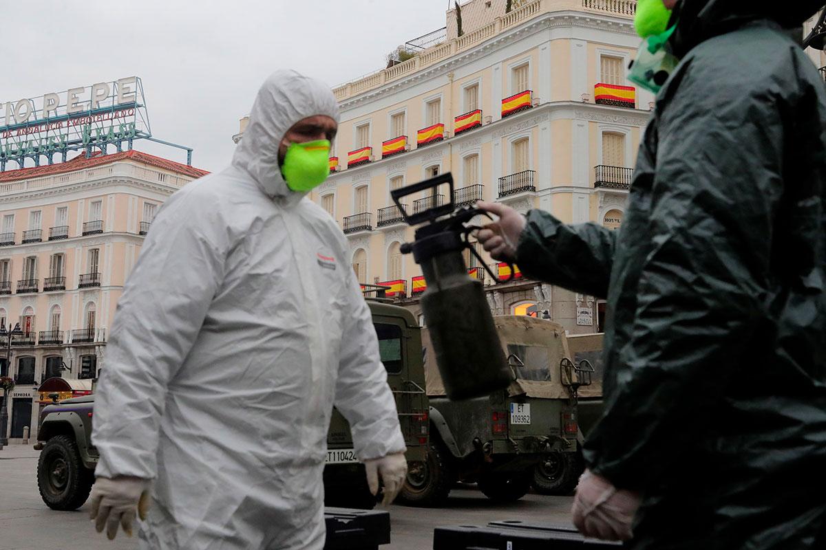Suman 33,089 infectados y 2,182 muertos por Covid-19 en España