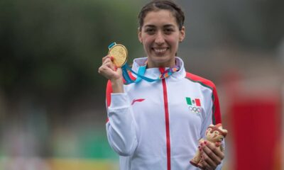 Da positivo a coronavirus la pentatleta mexicana Mariana Arceo
