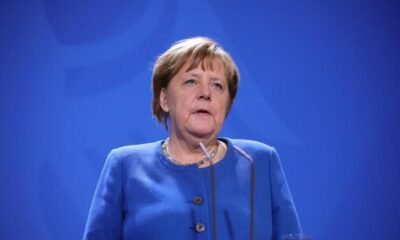 Angela Merkel en cuarentena por contacto con médico infectado de Covid-19