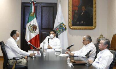 Miguel Barbosa cierra filas con AMLO y el pacto fiscal