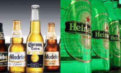 Grupo Modelo y Heineken suspenden producción de cerveza