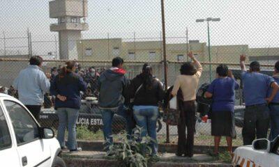 Por contingencia liberan a 59 internos en el Edomex