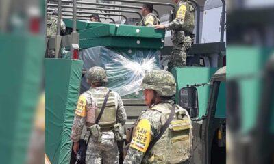 Ejército resguarda 38 almacenes de insumos del IMSS