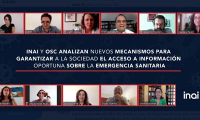 INAI, OSC, Acceso, Información, Pública, Garantizar, Derecho, Coronavirus, Covid-19, Pandemia, Información,