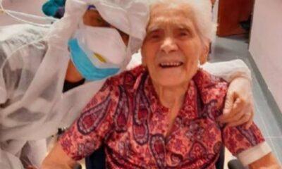 Mujer holandesa de 107 años vence el coronavirus