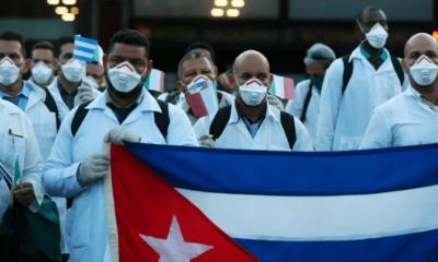 Médicos, Doctores, Especialistas, enfermeros, Cubanos, Cuba, Estados Unidos, Andorra, Crítica, Trump, Donald, Apoyo, Ayuda, Programa, Venezuela, Italia, Lombardía,