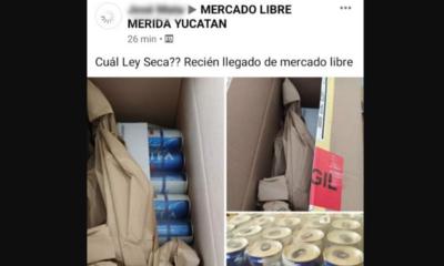 Mexicanos, Burlan, Ley Seca, Ley, Yucatán, Bebidas, Alcohólicas, Alcohol, MercadoLibre, Mercado, Libre, Amazon, DHL,