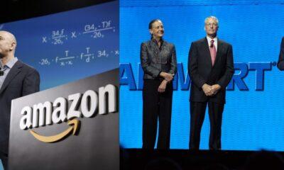 Amazon y Walmart, entre las empresas beneficiadas en la pandemia