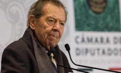 Muñoz Ledo pide no permitir el manejo unipersonal del presupuesto