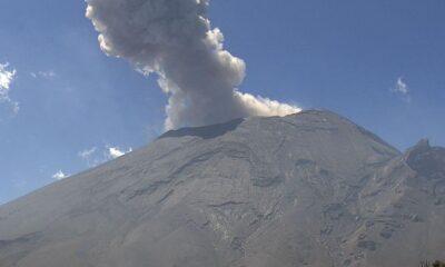 Cenapred exhorta a no acercarse al Popocatépetl