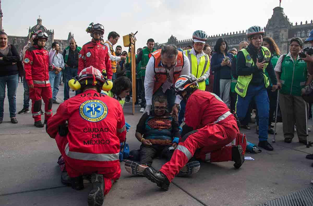 Cancelan macrosimulacro en CDMX por emergencia sanitaria