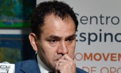 Arturo Herrera, secretario de Hacienda y Crédito Público, durante la presentación de los resultados del proyecto de investigación Desigualdad y Movilidad Social en México.