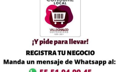 Valle de Chalco ayuda al comercio local ante crisis por Covid-19
