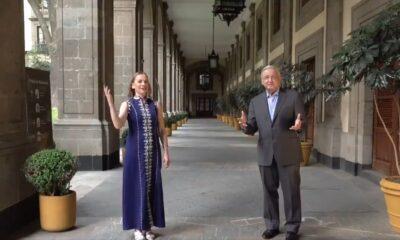 Gutiérrez Müller y AMLO felicitan a mamás de México