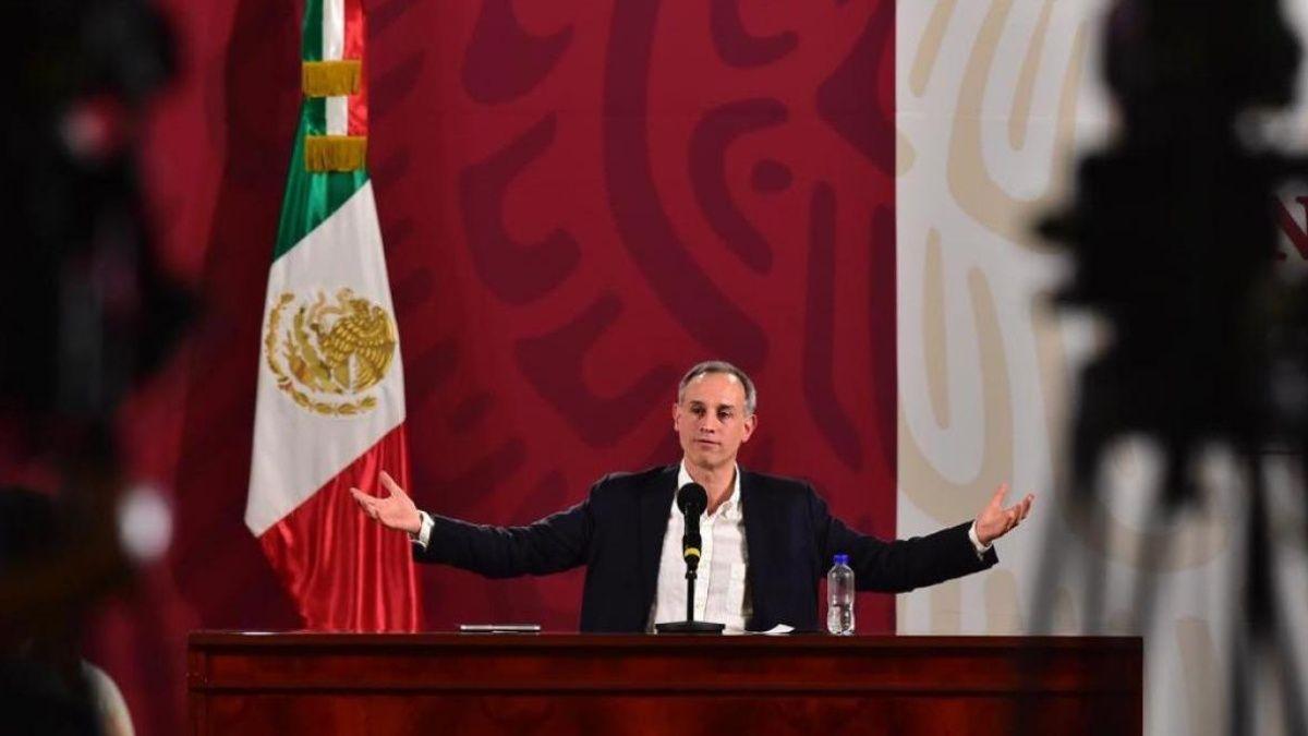 El día con mayor número de decesos fue el 15 de mayo con 250: López-Gatell