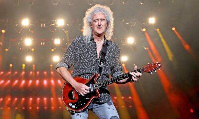 Consideran a Brian May como el mejor guitarrista de todos los tiempos